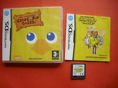 Final Fantasy Fables Chocobo Tales Nintendo DS PAL