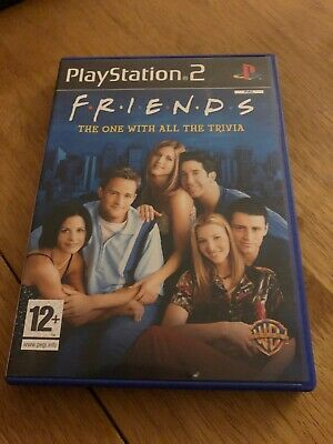 Friends: The One with all the Trivia PS2 Excellent Condition