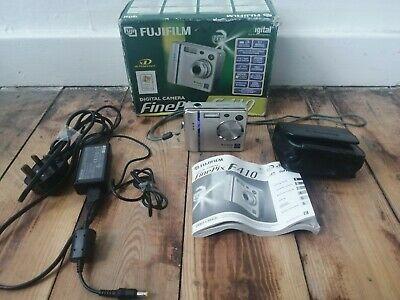 Fujifilm FinePix F Series FMP Digital Camera - Silver