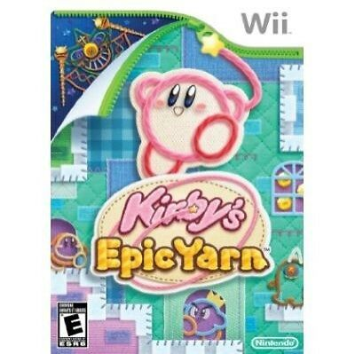 Kirby's Epic Yarn (Nintendo Wii, ) complete DC5