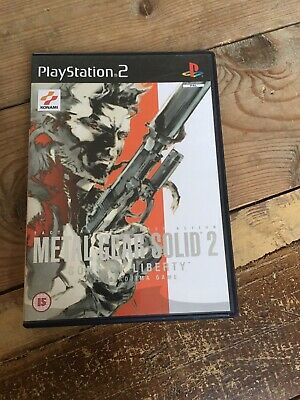 Metal Gear Solid 2: Sons of Liberty (Sony PlayStation 2,