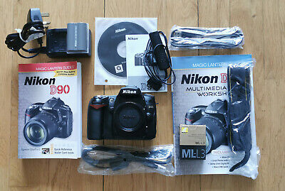 NIKON D90 BODY ONLY - LOW 13K SHUTTER COUNT - FREE P&P