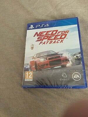 Need For Speed: Payback (PS4) Brand New & Sealed UK PAL Free
