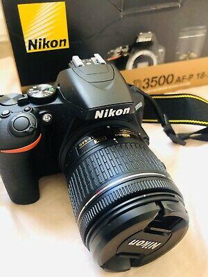 Nikon D DSLR Camera with AF-P Non VR DX mm Lens and
