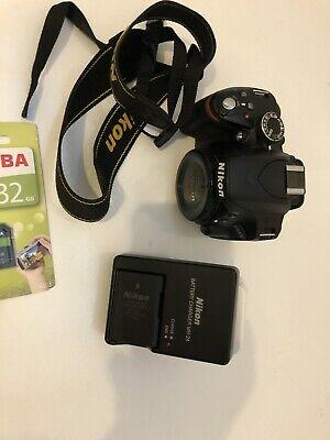 Nikon D MP DSLR Camera Body Mint Only  Shots &