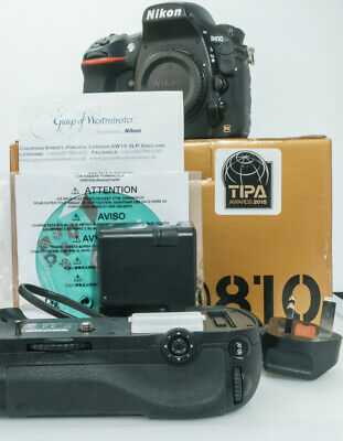 Nikon D810 Body - 36.3MP Full-Frame DSLR in Mint- Condition
