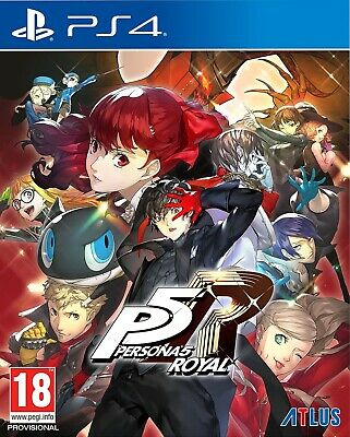 Persona 5 Royal Launch Edition (PS4) Brand New & Sealed Free