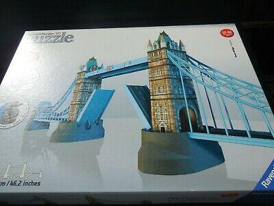 Ravensburger 3D 216 piece jigsaw puzzle Tower Bridge London