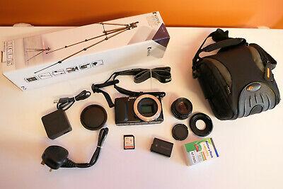 Sony Alpha NEX-3N 16.1MP FULL HD Mirrorless Camera 35mm F1.6
