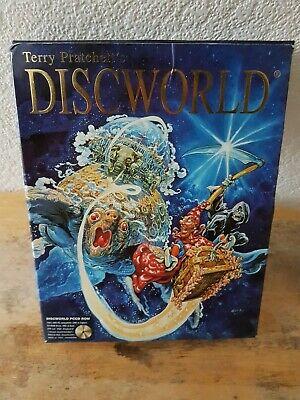 Terry Pratchett's Discworld PC CD ROM Game Big Box