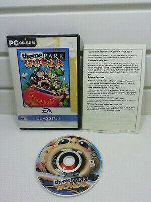 Theme Park World (PC CD ROM: Windows ).