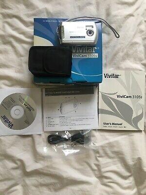 Vivitar ViviCam s 3.2MP Digital Camera - Silver