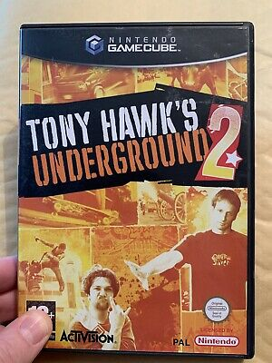 tony hawks underground 2 NR MINT NINTENDO GAMECUBE Wii PAL -