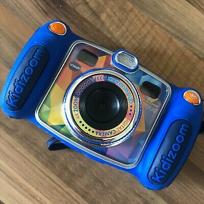 vtech kidizoom duo camera, Blue/Orange. Excellent working