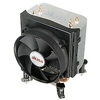 Akasa X4 Universal Socket 92mm PWM RPM Black Fan CPU