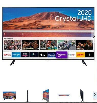 BRAND NEW  Samsung UE55TU Inch TV Smart 4K Ultra