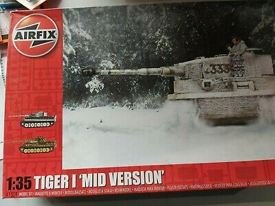 NEW UNOPENED A Airfix 1:35 Scale Tiger 1 Early Version