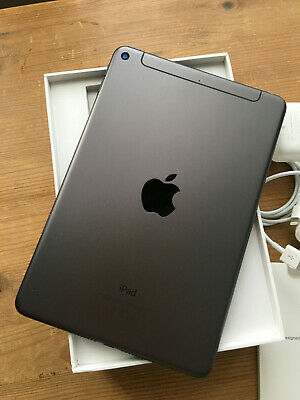 "APPLE iPAD MINI 5th 64GB Wi-Fi + 4G UNLOCKED 7.9"" SPACE GREY"