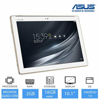 "ASUS ZenPad Z301M 10.1"" White Tablet Quad Core CPU,2GB"