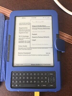Amazon Kindle Keyboard (3rd Generation) 4 GB, Wi-Fi + 3G
