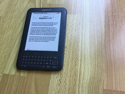 Amazon Kindle Keyboard (3rd Generation) 4GB, Wi-Fi, 6in Good
