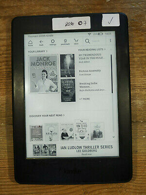 "Amazon Kindle Paperwhite 3 4GB Wi-Fi 6"" Black eReader (07)"