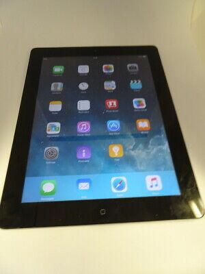 Apple iPad 2 16GB, Wi-Fi 9.7in - Black Tablet - FAULTY READ