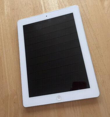 Apple iPad 2 16GB, Wi-Fi, 9.7in - White - Broken Screen