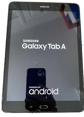 Black Samsung Galaxy Tab A, 1.5Gb RAM, 16Gb, 9.7 inch
