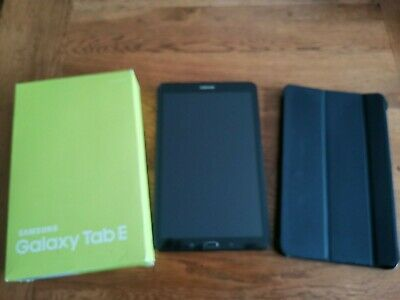 "Samsung Galaxy Tab E T"" Black 8gb WiFi Tablet -"