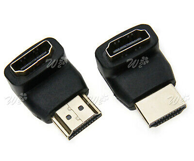 2 Pieces New HDMI Male to Female Extender Connector Adapter
