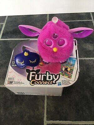 BOXED HASBRO FURBY CONNECT PURPLE ELECTRONIC TOY WITH EYE