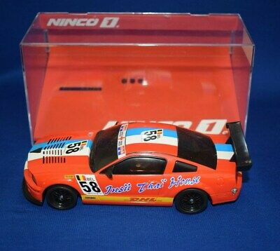 Ninco Slot Car  - Ford Mustang 'DHL #58' - Scalextric