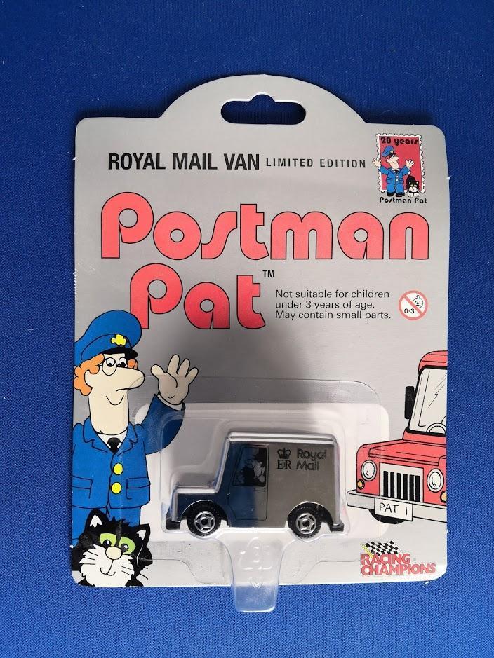 Postman Pat Royal Mail Van Racing Champions Limited Edition