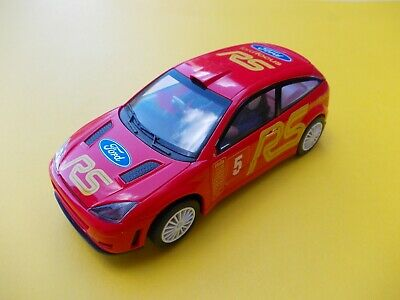 SCALEXTRIC C FORD FOCUS RS SILVER NEAR MINT CONDITION NO