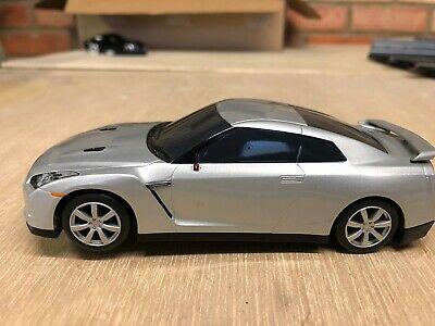 Scalextric C Nissan GT-R Silver GT Sportscar Slot Car -