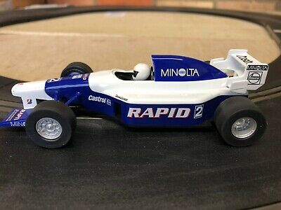 Scalextric F1 Race Car Team Rapid Minolta No.2 C