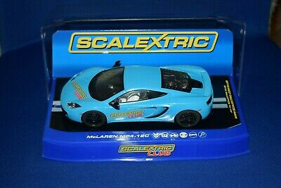 Scalextric Mclaren MP4-12C Club Car Limited Edition Boxed
