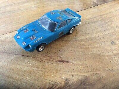 Scalextric Vintage Datsun 260Z C.053 Slot Car Blue  Good