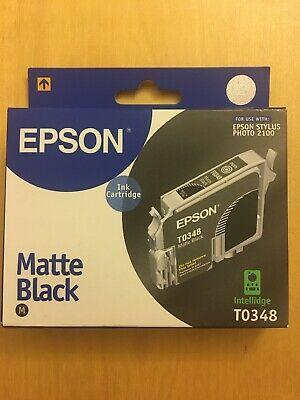 T matte black EPSON STYLUS PHOTO . GENUINE ORIGINAL