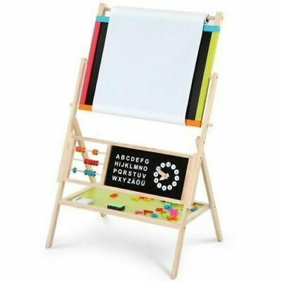 3 in 1 Wooden Art Easel Childrens/Kids Drawing