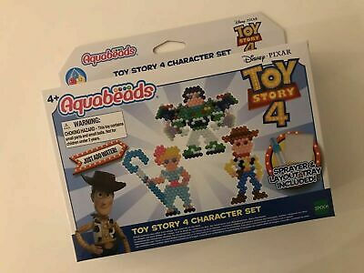 Aquabeads DISNEY TOY STORY 4 Character SET 700 Beads WOODY