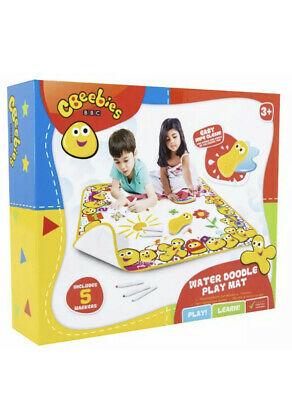 BBC CBeebies Water Doodle Scribbler Washable Play Mat Kids