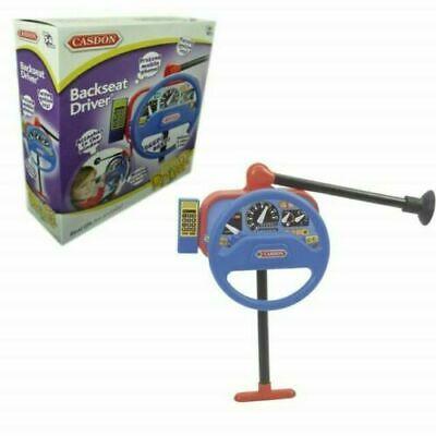 Casdon 214 Backseat Driver Kids Steering Wheel Toy