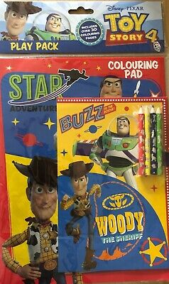 Disney Pixar Toy Story 4 Colouring Play Pack Set 2 Colouring