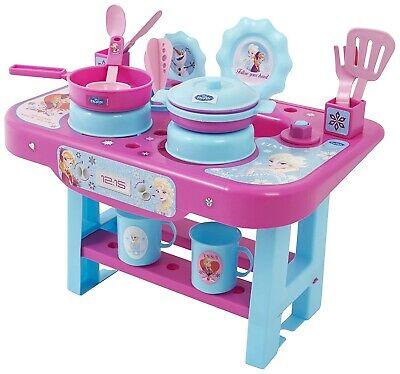 Frozen Disney Girls My First Kitchen Utensil Work Top Play