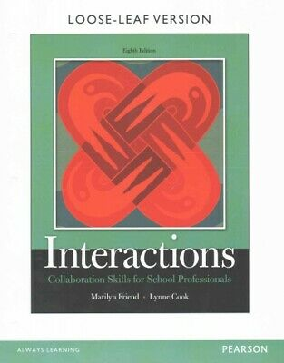 Interactions: Collaboration Skills for School Professionals,