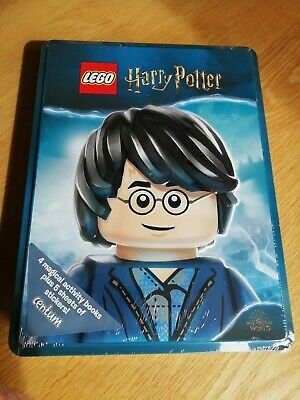 Lego - Tins of Books - Harry Potter NEW 4 Bewitching Books