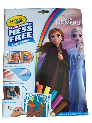 Rand New Crayola Color Wonder Colouring Book. Frozen 2 With
