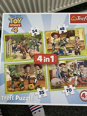 Trefl 4 in 1 - Disney Pixar Toy Story 4 - Box of 4 Puzzles -